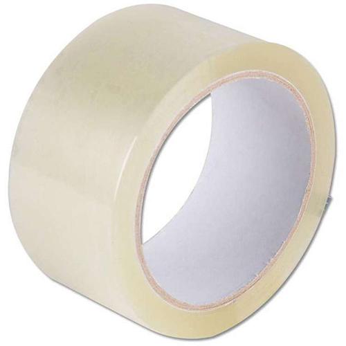 Клейкая лента (скотч) 48 мм х 66 м прозрачная 40 мкм