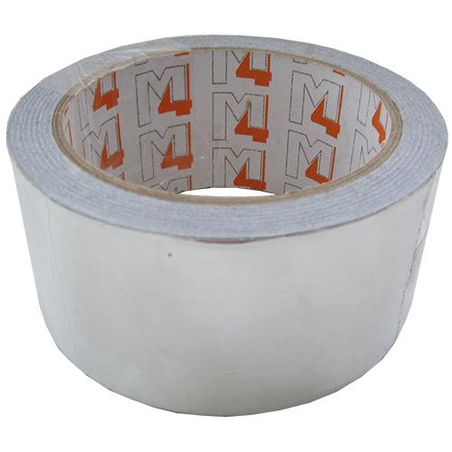 Клейкая лента (скотч) 48 мм х 20 м фольгинированная 50 мк