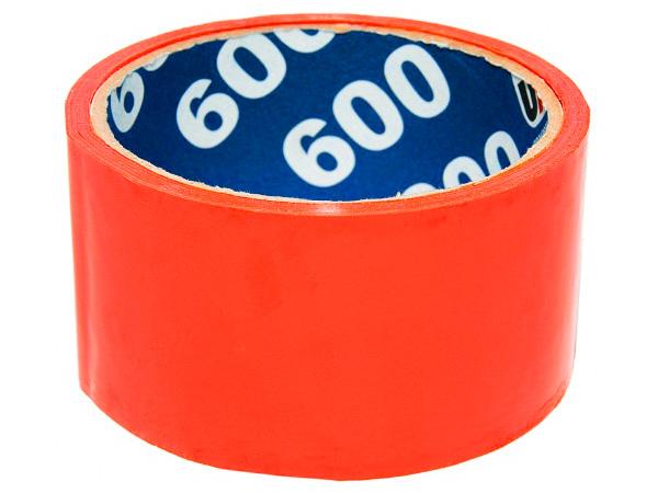 Клейкая лента (скотч) 48 мм х 66 м Оранжевая