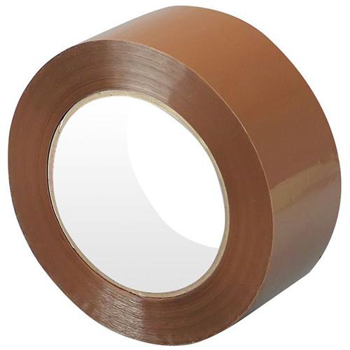 Клейкая лента (скотч) 48 мм х 66 м, коричневая
