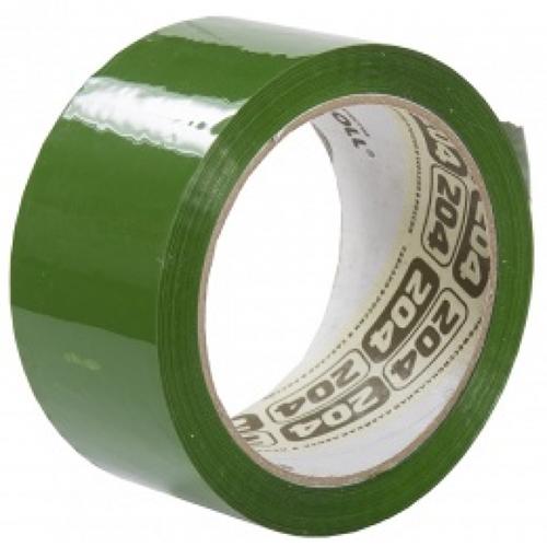 Клейкая лента (скотч) 48 мм х 66 м зеленая