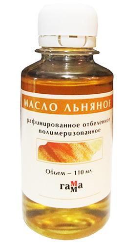 Масло 100мл льняное полимеризованное