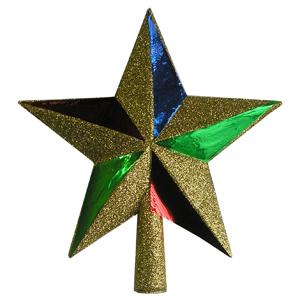 Украшение елочное Верхушка-звезда