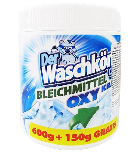 Отбеливатель кислородный для белых тканей Der Waschkonig Bleichmittel Kraft OXI 750г