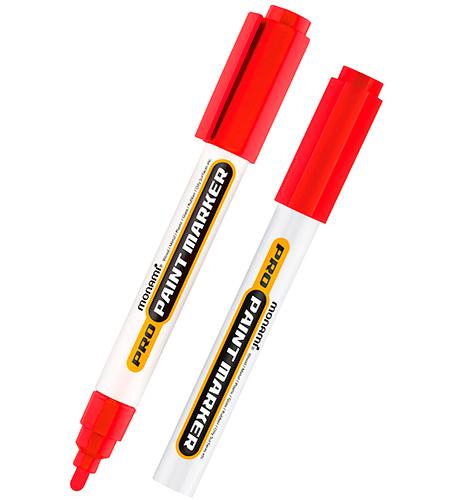 Маркер лаковый MonAmi красный PRO PAINT 2,0 мм