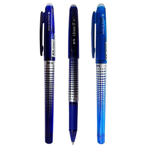 Ручка гелевая синяя, Пиши-Стирай, M&G