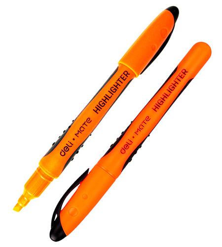 Маркер текстовыделитель оранжевый