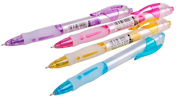 Ручка шариковая ФРУКТЫ