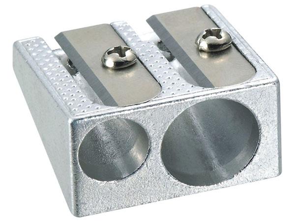Точилка двойная металлическая