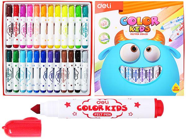 Фломастеры 24 цвета COLOR KIDS